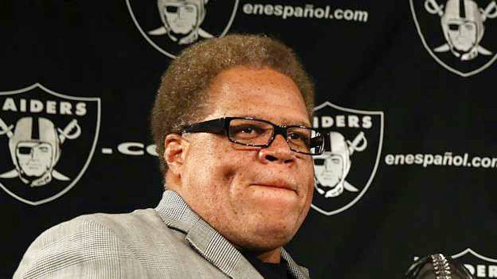 Raiders GM Reggie McKenzie voted Sporting News Executive of the Year for 2016. (Courtesy)