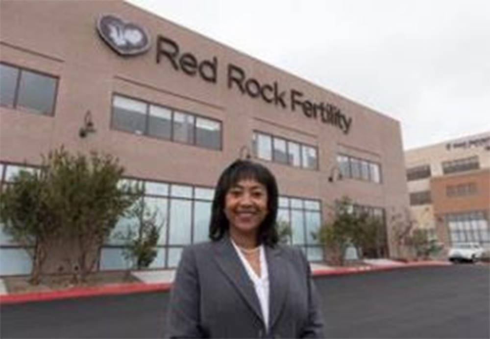 Dr. Eva Littman, owner of Red Rock Fertility in Las Vegas, has been honored with the Small Business Person of the Year award. (Courtesy)