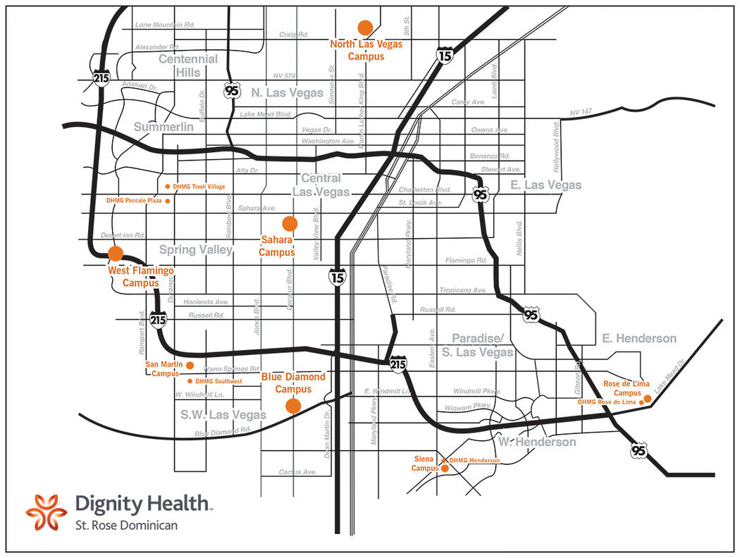 Dignity Health plans to open four neighborhood hospitals this year. (Courtesy)