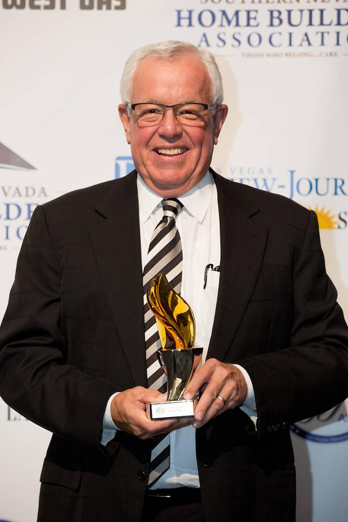 Las Vegas developer Robert (Randy) Black Sr.received the Silver Nugget Lifetime Achievement Award.