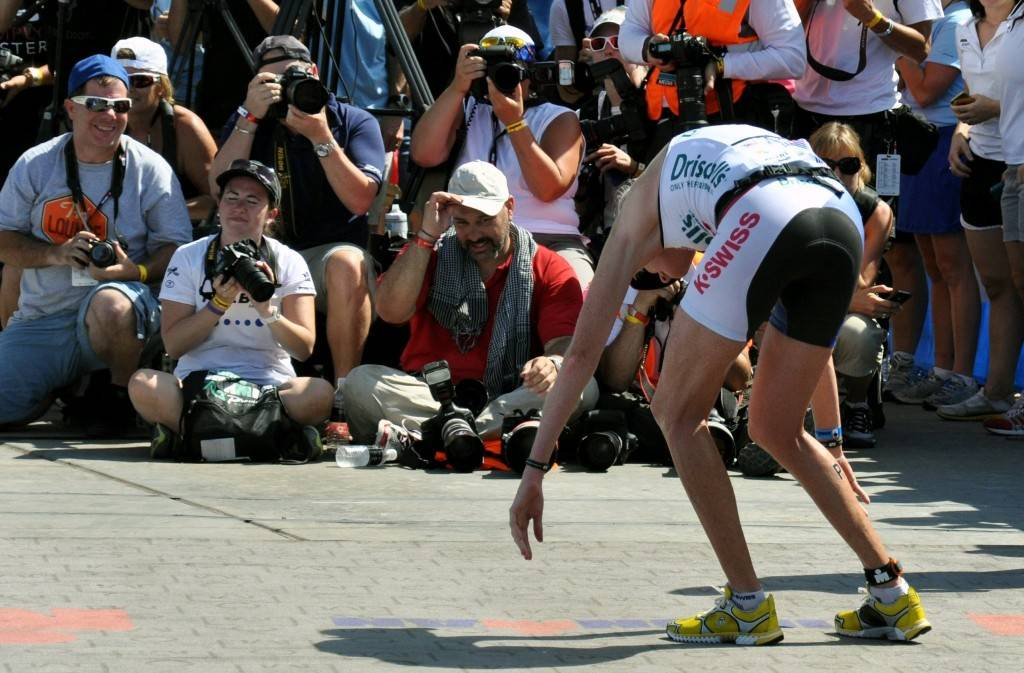The Ironman 70.3 World Championship was held in Henderson and the Lake Mead National Recreation Area in 2012 and 2013, where the athletes faced challenges from the climate as well as the course. T ...