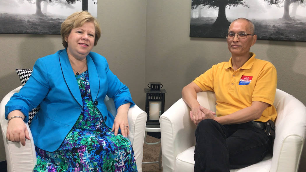 Cavin Fung, president of Asian Culture Alliance discusses career advice with Mentoring Moments host Debbie Donaldson.
