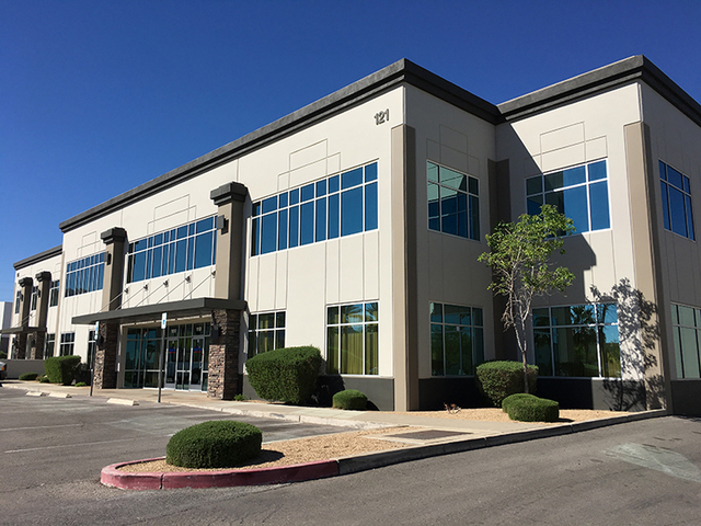COURTESY CP 121 recently purchased 12,321 square feet of industrial space at 121 Corporate Park in Henderson.