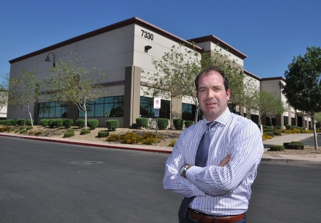 John Ramous leads Harsch's Las Vegas office. (Joe Coomer/Special to the Las Vegas Business Press)