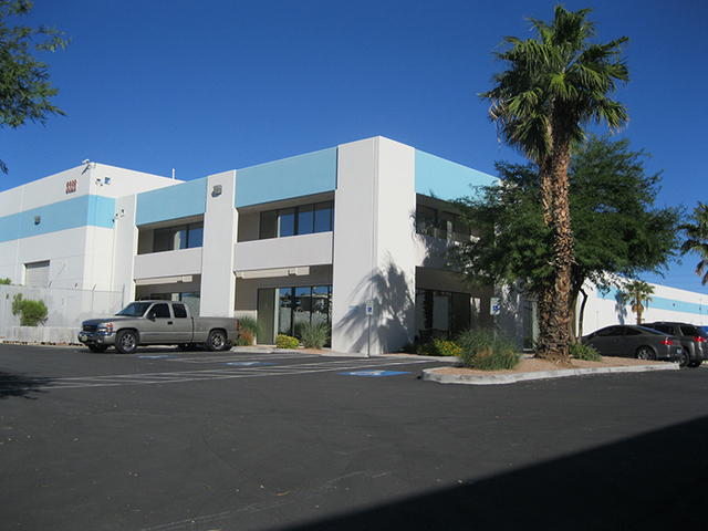 AZ Partmaster recently leased 46,360 square feet of industrial space in Polaris Crossing at 3326 Ponderosa Way in Las Vegas. Courtesy.