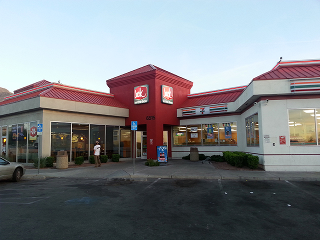 This commercial space at 6515 E. Lake Mead Blvd. has been sold for $4 million. (Courtesy)