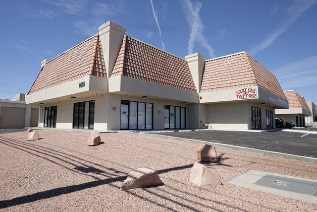 Knock Knock LLC recently purchased the industrial building at 4655 Quality Court in Las Vegas. Ulf Buchholz/Business Press