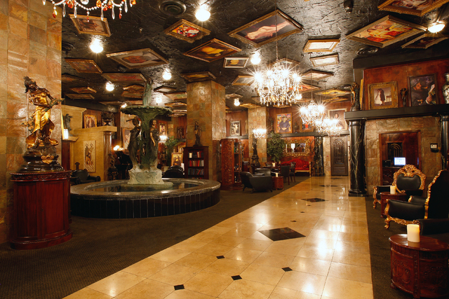The lobby of the Artisan hotel projects a unique image. (Courtesy Siegel Group)