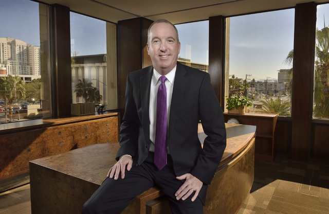 Al Welch, the new president of Bank of America's Las Vegas operation, sees technology and seamless banking relationships as key drivers of growth. BILL HUGHES/LAS VEGAS BUSINESS PRESS