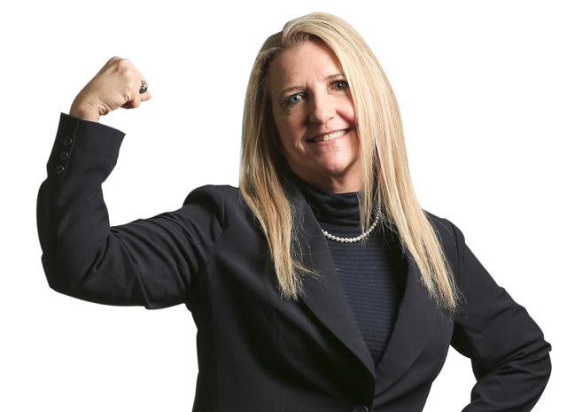 Kim Walker, certified public accountant, visits the Review-Journal for a portrait on Friday, Jan. 27, 2017, in Las Vegas. Brett Le Blanc/Las Vegas Review-Journal Follow @bleblancphoto