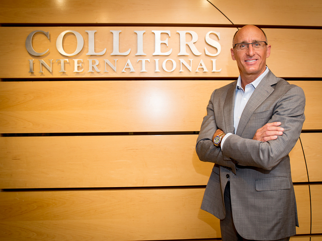 Mike Mixer, managing director of Colliers International's Las Vegas Office is shown at his office, Oct. 4, 2016. Tanya Harvey/Las Vegas Business Press
