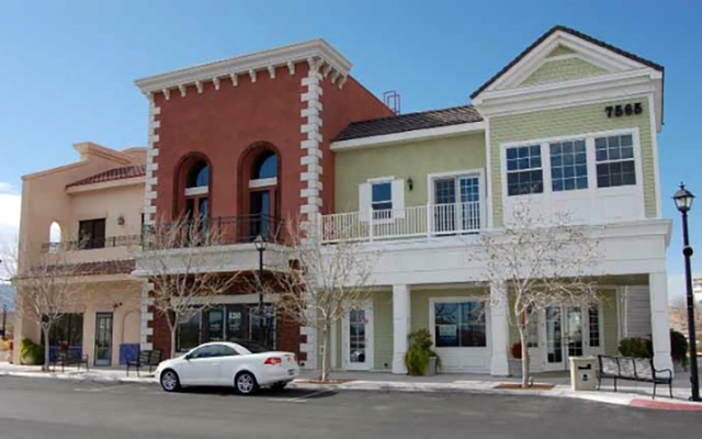 Two companies recently signed leases in the Village at Centennial Springs at 7570 Norman Rockwell Lane in Las Vegas. Courtesy photo.