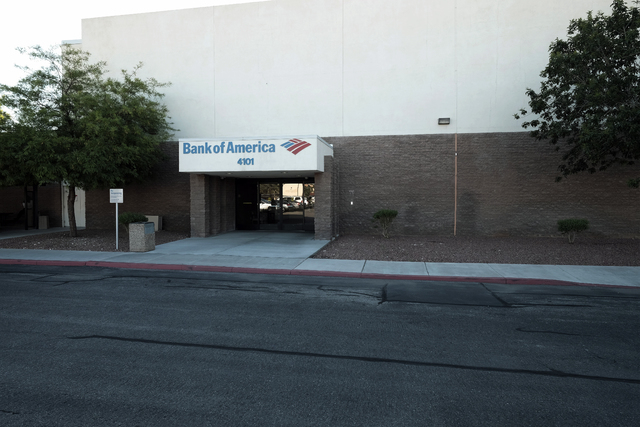The Bank of America operations building at 4101 E. Charleston Boulevard in Las Vegas recently sold for $4.6 million.