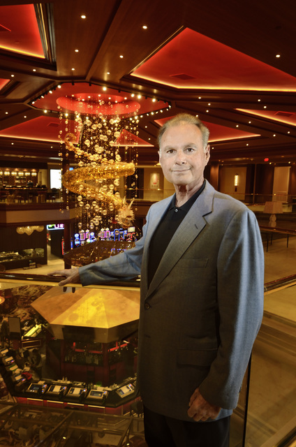 Lucky Dragon CEO and managing partner Andrew Fonfa at the hotel-casino at 300 W. Sahara Ave. in Las Vegas on Thursday, Nov. 17, 2016. Bill Hughes/Las Vegas Review-Journal