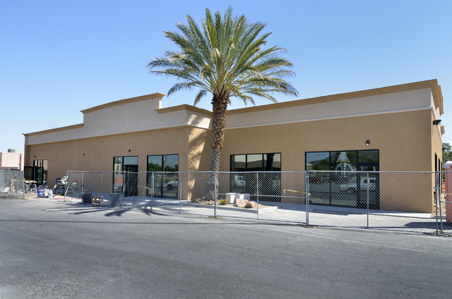 The exterior of a Dotty's property under renovation is shown on the site of the former Terrible's Town Casino and Bowl at 642 S. Boulder Highway in Henderson on Tuesday, June 2, 2015. (Bill Hughes ...