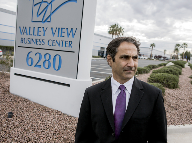 Jay Heller, principal for Heller Companies, has recently been named the president of NAIOP, the Commercial Real Estate Development Association. Jeff Scheid/Las Vegas Review-Journal Follow @jeffscheid