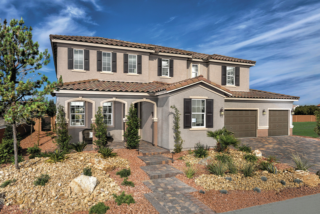 COURTESY KB Home offers an array of home designs and communities in Southern Nevada, from  condominium-style homes and townhomes to traditional single-family homes.