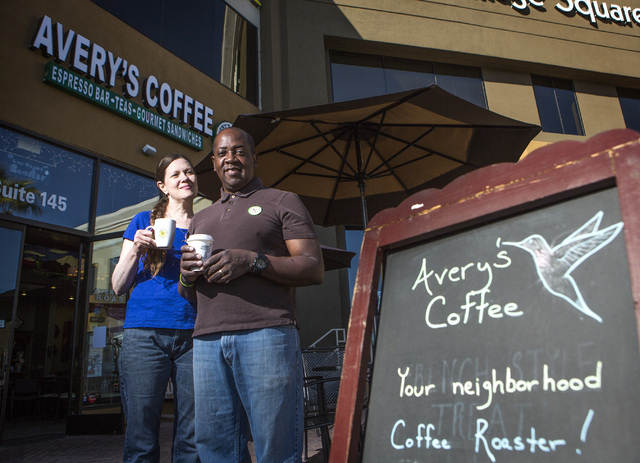 Avery's Coffee owners Linda Ray, left, and her husband Sherman have been working on being compliant with EMV credit card standards for a year but so far, it hasn't worked. Software issues are blam ...
