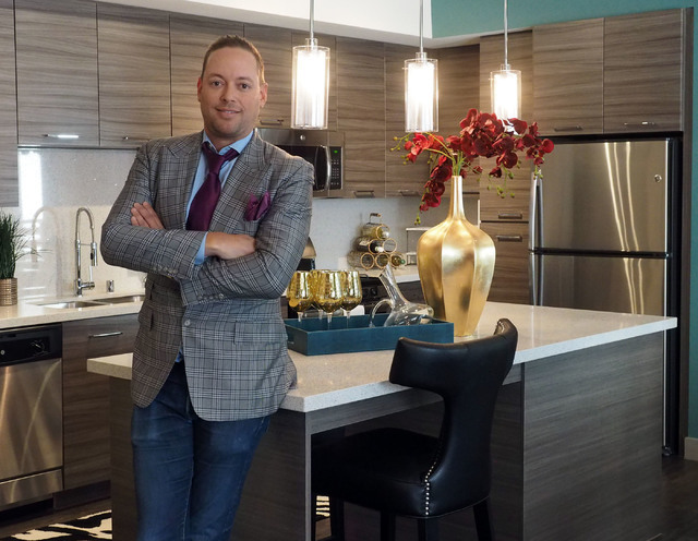 The Calida Group Managing Director Eric Cohen poses for a photo in the model at the new luxury apartment complex Constellation in Downtown Summerlin, Tuesday, Aug. 30, 2016. Jerry Henkel/Las Vegas ...