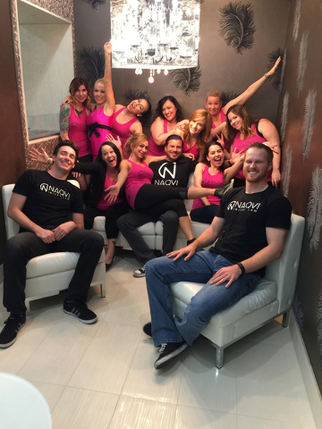COURTESY Farhan Naqvi, founder of Naqvi Injury Law, said nearly all of the 20 employees at his Las Vegas firm are millennials.