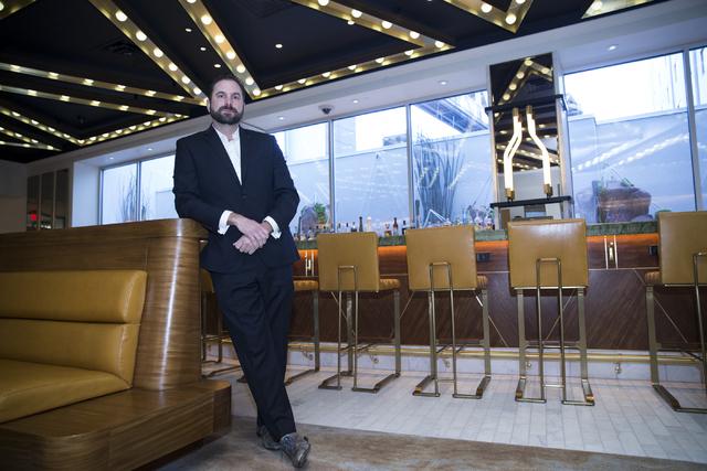 General manager Mark Eberwein at the W Las Vegas hotel on Friday, Jan. 6, 2017, in Las Vegas. Erik Verduzco/Las Vegas Review-Journal Follow @Erik_Verduzco