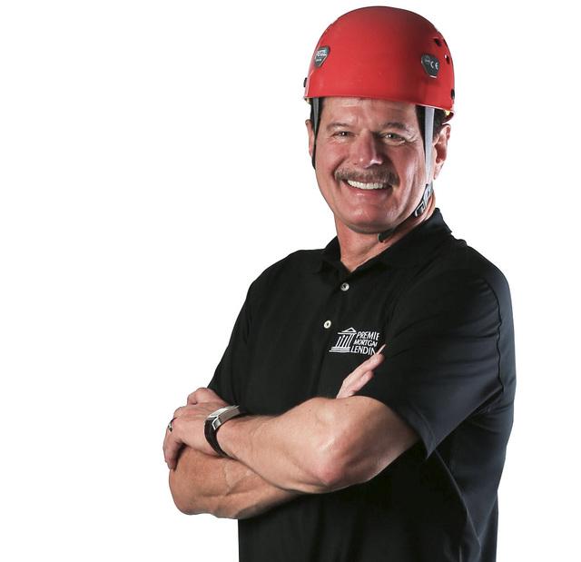 Brett Le Blanc/Las Vegas Business Press Rick Piette, owner of Premier Mortgage Lending, is climbing mountains when he is not behind a desk.