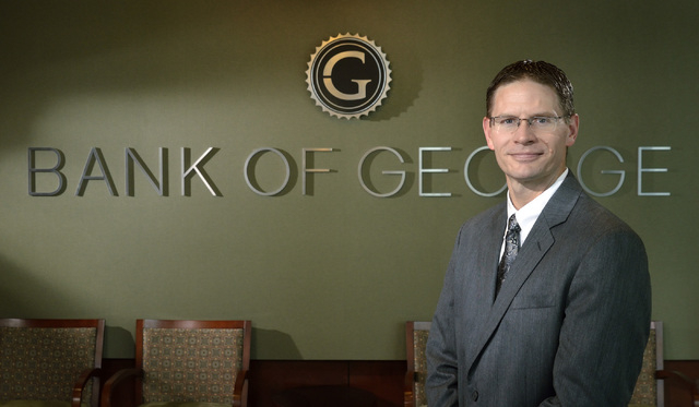 T. Ryan Sullivan, president and CEO of Bank of George, says the portfoliuo of business loans is growing rapidly.  Bill Hughes/Las Vegas Business Press