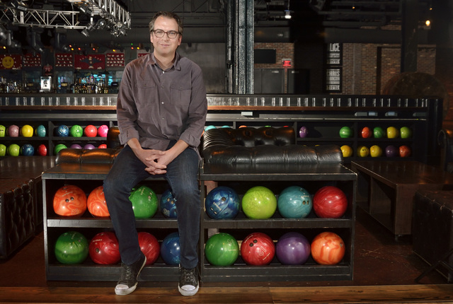 Chris White, senior vice president of Brooklyn Bowl Las Vegas, says the venue's success is tied to its willingness to change. Bill Hughes/Las Vegas Business Press