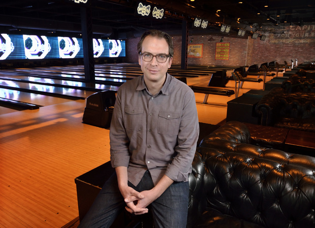 Chris White, senior vice president of Brooklyn Bowl Las Vegas, is shown at the venue at 3545 Las Vegas Blvd. S. in Las Vegas on Tuesday, March 22, 2016. Bill Hughes/Las Vegas Review-Journal