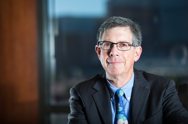 Attorney Rob Charles poses for a portrait at the Lewis Roca Rothgerber Christie firm at the Hughes Center in Las Vegas on Wednesday, April 13, 2016. Chase Stevens/Las Vegas Review-Journal Follow @ ...