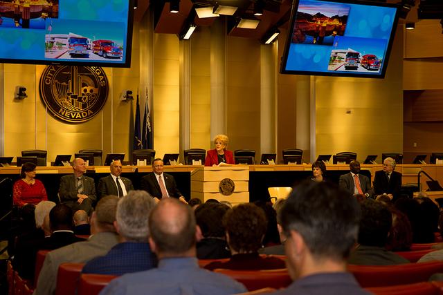 Las Vegas Mayor Carolyn Goodman gives State of the City address