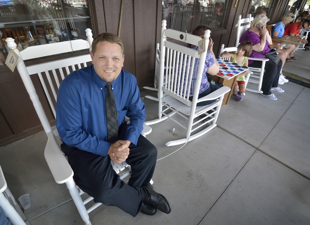 Rob Ramsey, general manager of Cracker Barrel Las Vegas, is shown at the store and restaurant at 8350 Dean Martin Drive on Friday, Aug. 5, 2016. Bill Hughes/Las Vegas Review-Journal