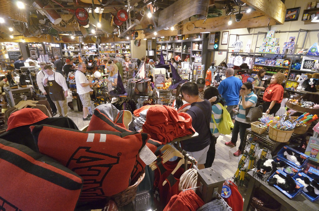 The store is shown at Cracker Barrel at 8350 Dean Martin Drive in Las Vegas on Friday, Aug. 5, 2016. Bill Hughes/Las Vegas Review-Journal