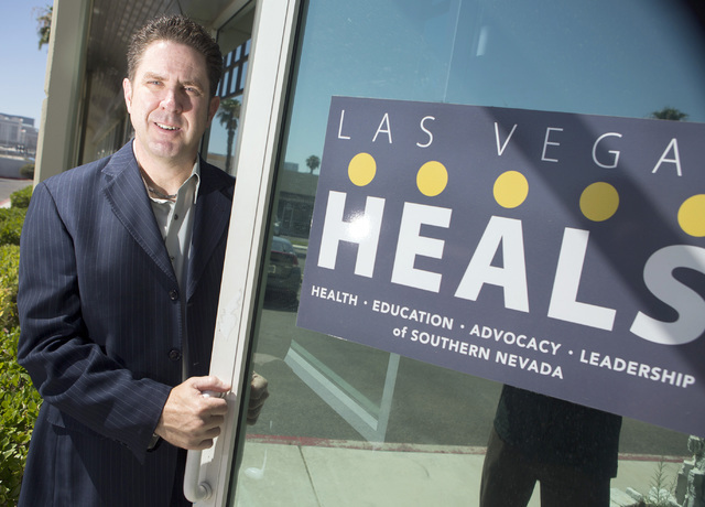 Doug Geinzer, director of Las Vegas HEALS, an advocacy group for the healthcare industry, stands for a photo on Monday, July 11, 2016. Jeff Scheid/Las Vegas Review-Journal Follow @jeffscheid