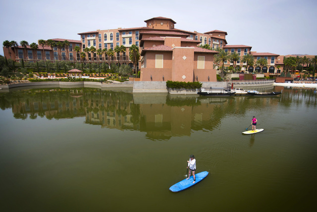 Westin Lake Las Vegas Resort & Spa in Henderson is expecting to turn a profit this year.  (Jeff Scheid/Las Vegas Review-Journal)