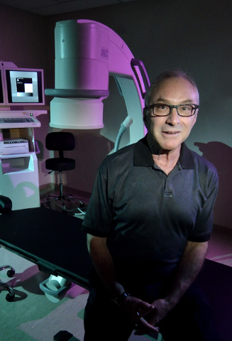 Dr. Sidney Kass, medical director of Regenexx Las Vegas, which specializes in orthopedic stem cell and blood platelet procedures, is shown at the clinic at 100 N. Green Valley Parkway in Henderson ...