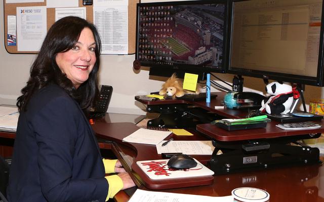 Stephanie Hill of the Greater Las Vegas Association of Realtor at her office in Las Vegas Monday, Dec. 5, 2016. (Bizuayehu Tesfaye/Las Vegas Review-Journal) @bizutesfaye