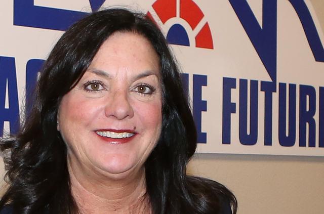 Stephanie Hill of the Greater Las Vegas Association of Realtor (GLVAR), at GLVAR's classroom in Las Vegas  Monday, Dec. 5, 2016. (Bizuayehu Tesfaye/Las Vegas Review-Journal) @bizutesfaye