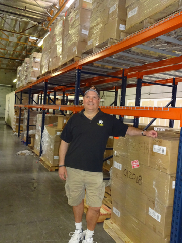 For Brad Burdsall, buying and baking in bulk is a frugal practice for his restaurants. (Craig A. Ruark, special to the Las Vegas Business Press)