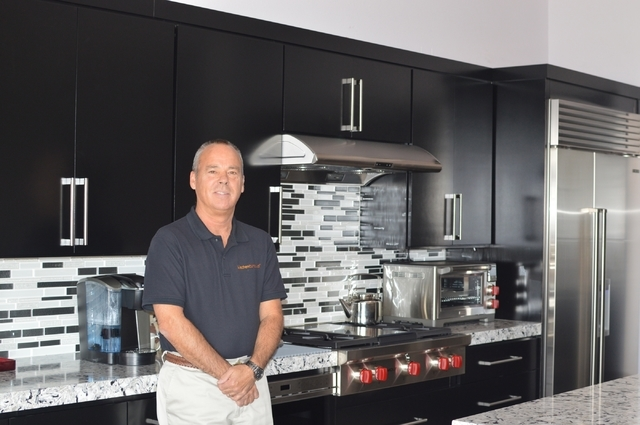 Paul Climer, owner of Kitchen Tune-Ups, says customer service is the key to his success. (Stephanie Annis/special to the Las Vegas Business Press)