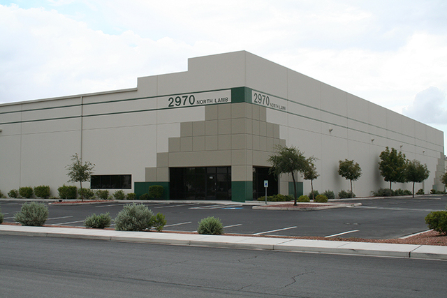 Special Logistics Nevada LLC recently leased 102,016 square feet of industrial space in Prologis Sunrise Industrial Park at 2970 N. Lamb Blvd., Suite 111-115 in Las Vegas. (Courtesy)