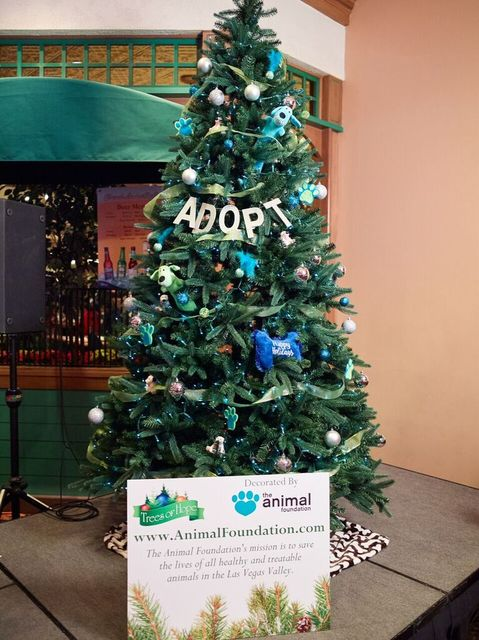 """Boyd Gaming announced the winners of the 2016 """"Trees of Hope"""" decorating contest. 30 nonprofits participated in the competition at the Orleans, Gold Coast, Sam's Town, Suncoast, California a ..."""