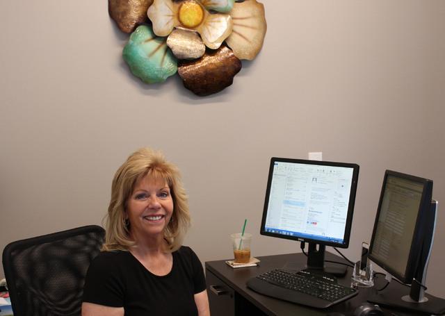 Linda Ayres at New American Funding's Las Vegas office on June 10, 2016. (Jeffrey Meehan/Las Vegas Business Press)