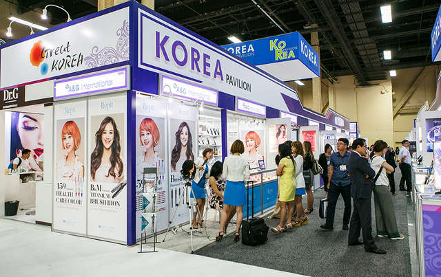 COURTESY  Cosmoprof North America was held at Mandalay Bay Convention Center July 24-26 as part of its Professional Beauty Association Week.