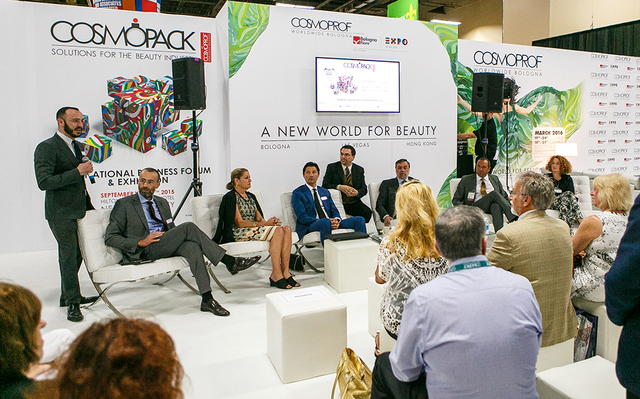 COURTESY Cosmoprof North America holds its convention every year in Las Vegas.