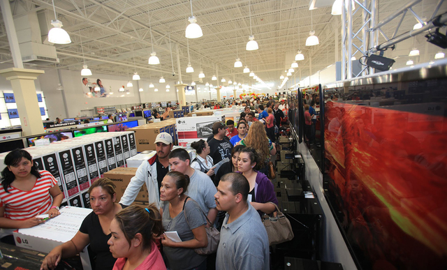 The store will cater to Hispanics; and its employees speak English and Spanish. (Courtesy of Enrique Santana)
