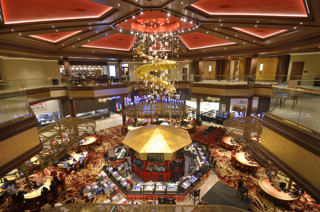 Bill Hughes/Las Vegas Business Press The Lucky Dragon at 300 W. Sahara Ave. will cater to Asian Americans.