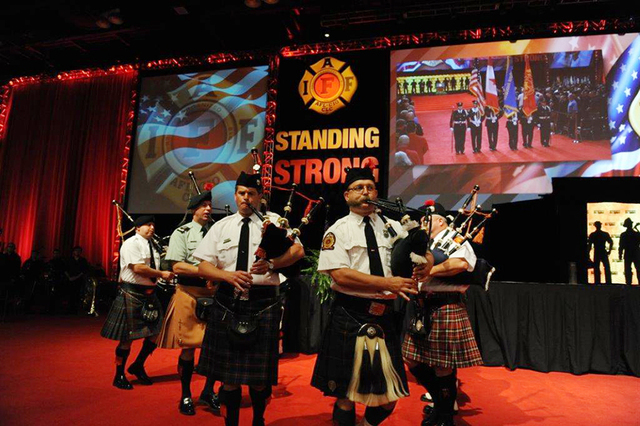More than 2,000 firefighters from across the U.S. and Canada are in town for the IAFF Convention through Aug. 21. (Courtesy)