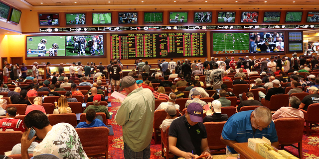 According to Jimmy Vaccaro, who operates the sportsbook at South Point, statewide the sports-betting handle increased $300 million in the past year and will surpass $5 billion in 2016. (Courtesy)