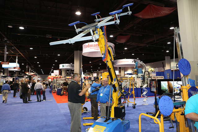 GlassBuild America held it's expo Oct. 19-21 at the Las Vegas Convention Center. (Courtesy)
